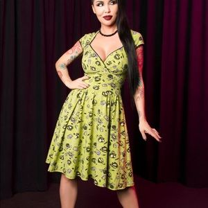 NWT Pinup Girl Clothing Luscious Dress